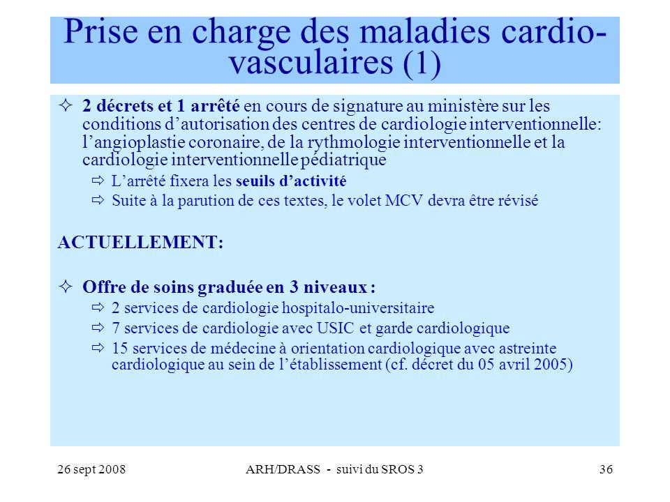 Prise en charge des maladies cardio-vasculaires (1)