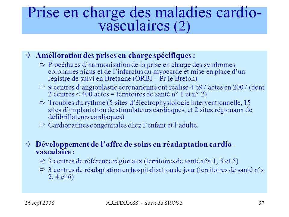 Prise en charge des maladies cardio-vasculaires (2)