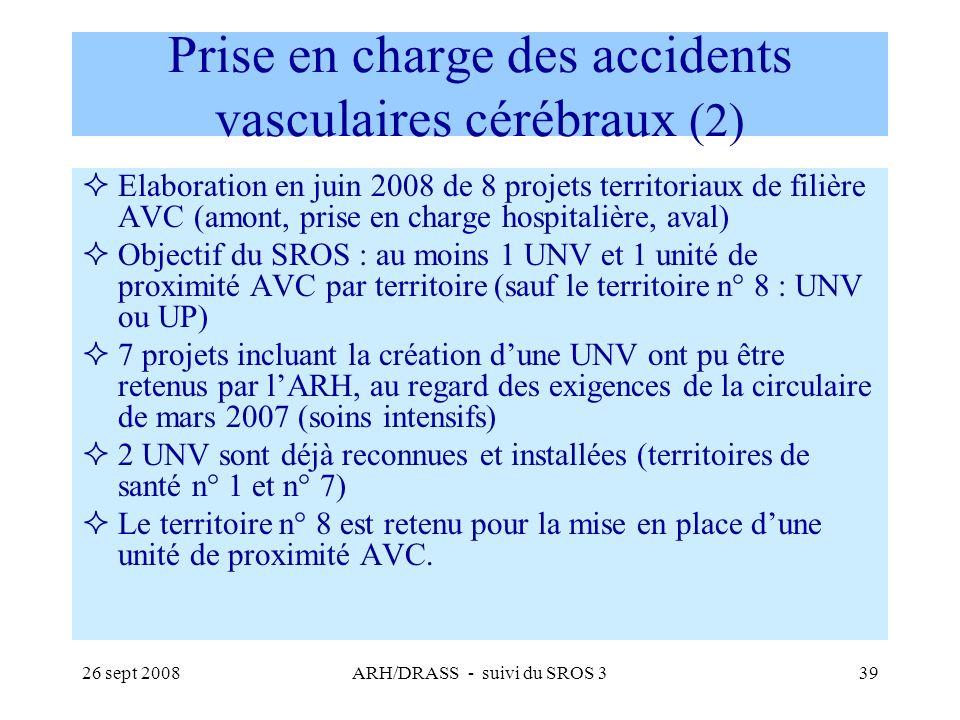 Prise en charge des accidents vasculaires cérébraux (2)