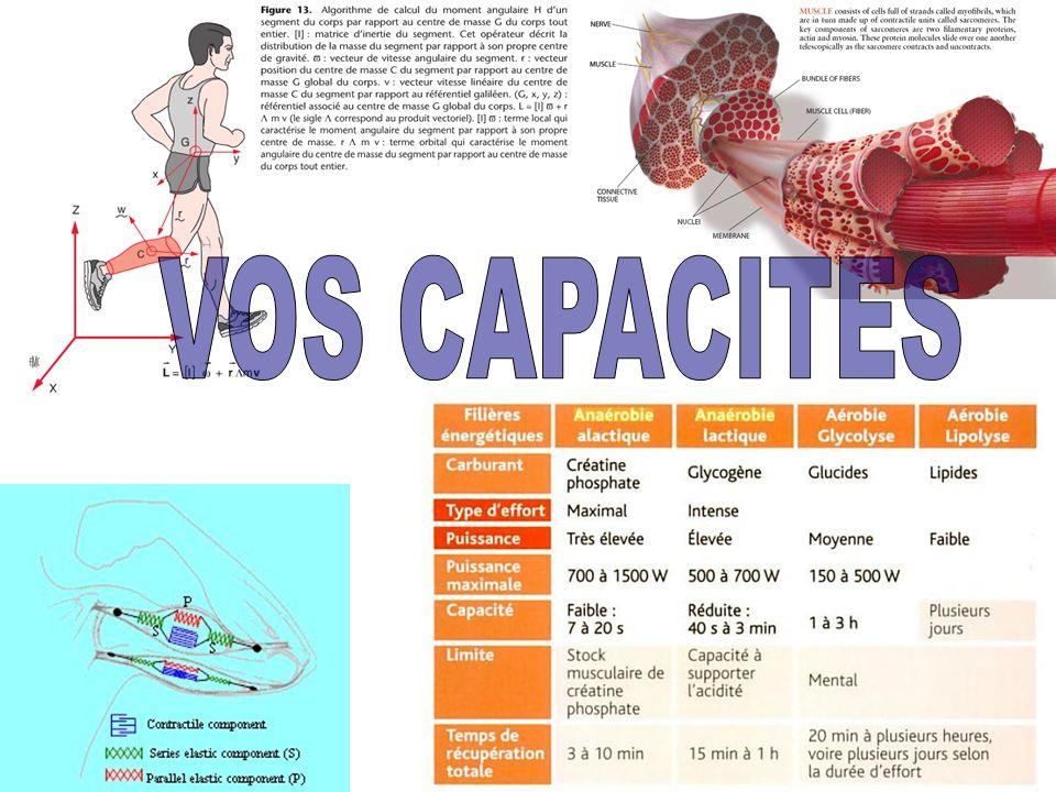 VOS CAPACITES
