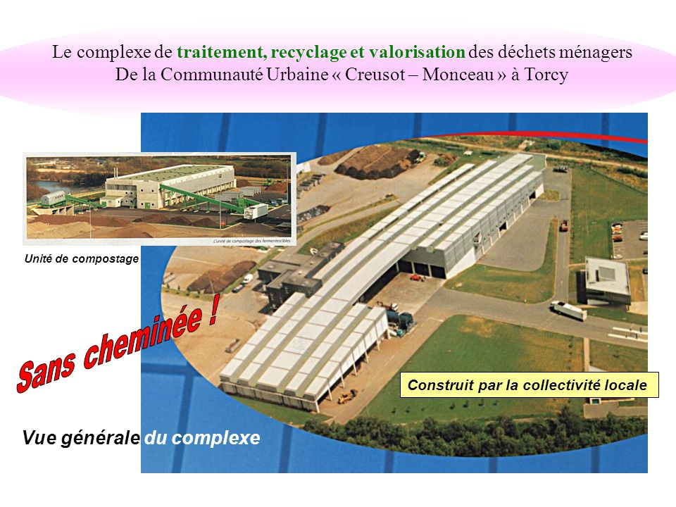 De la Communauté Urbaine « Creusot – Monceau » à Torcy