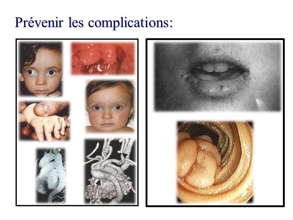 Prévenir les complications: