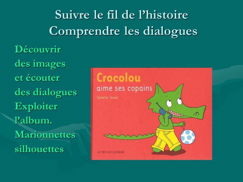 Suivre le fil de l'histoire Comprendre les dialogues