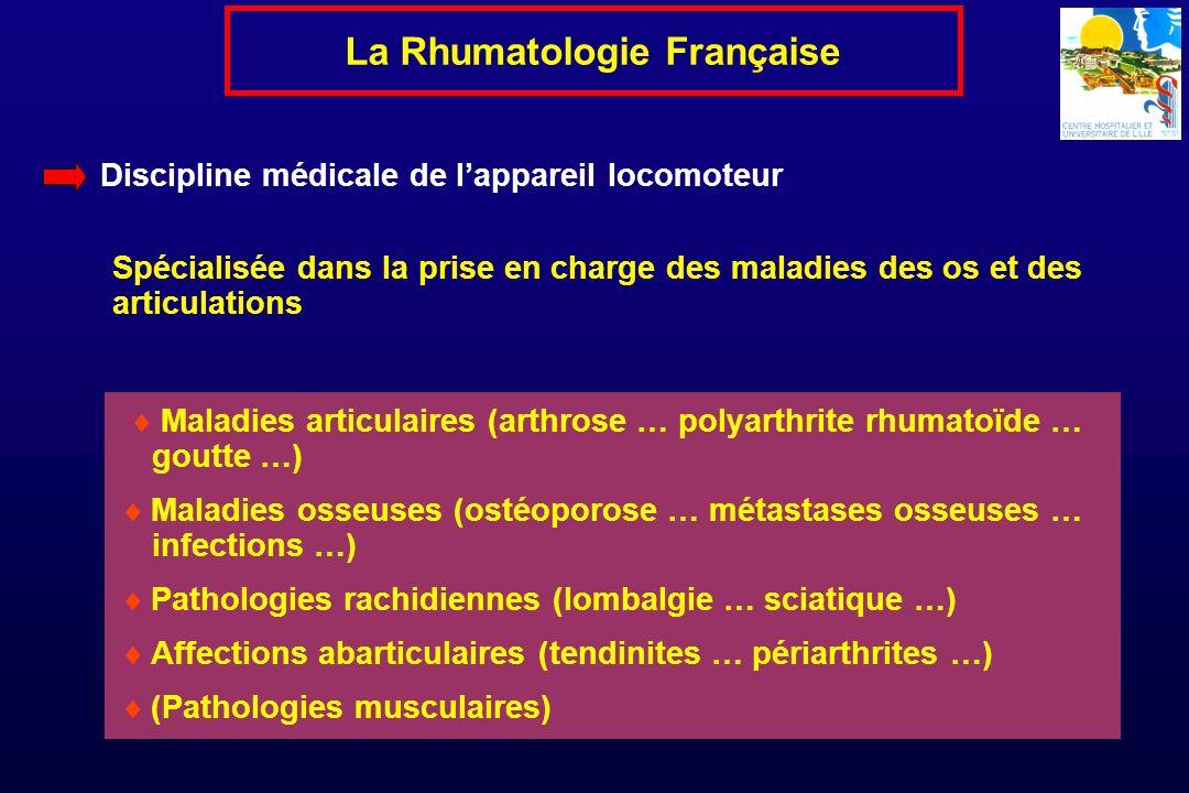 La Rhumatologie Française
