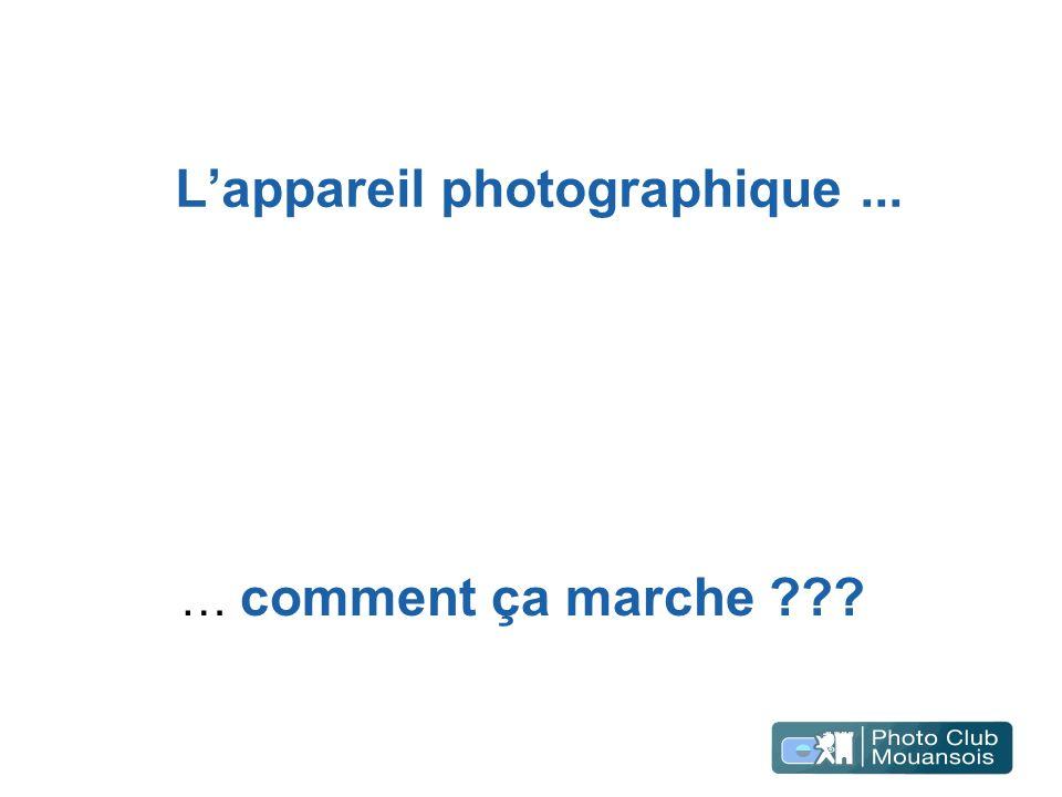 L'appareil photographique ...