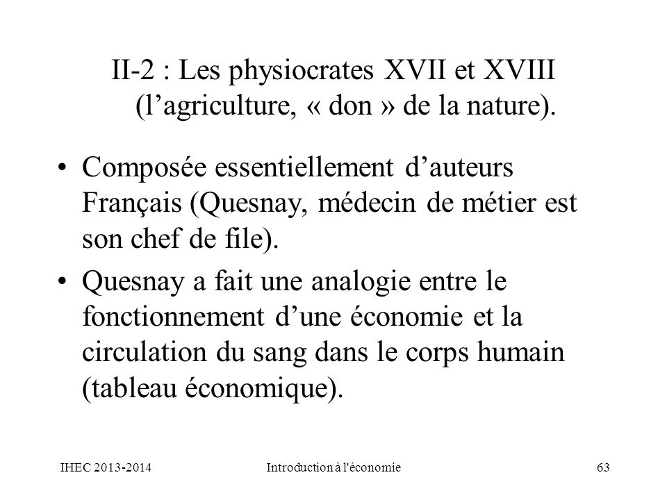 Introduction à l économie