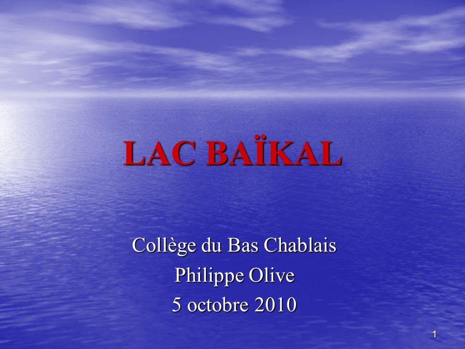 Collège du Bas Chablais Philippe Olive 5 octobre 2010