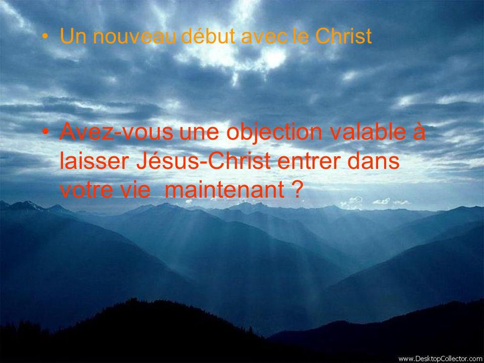 Un nouveau début avec le Christ