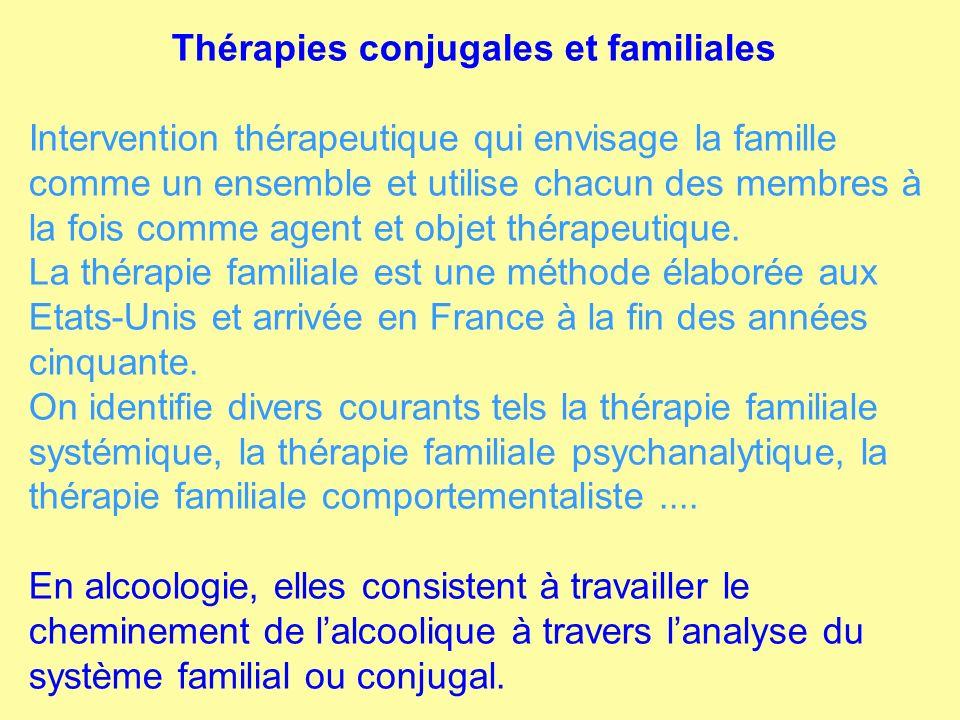 Thérapies conjugales et familiales