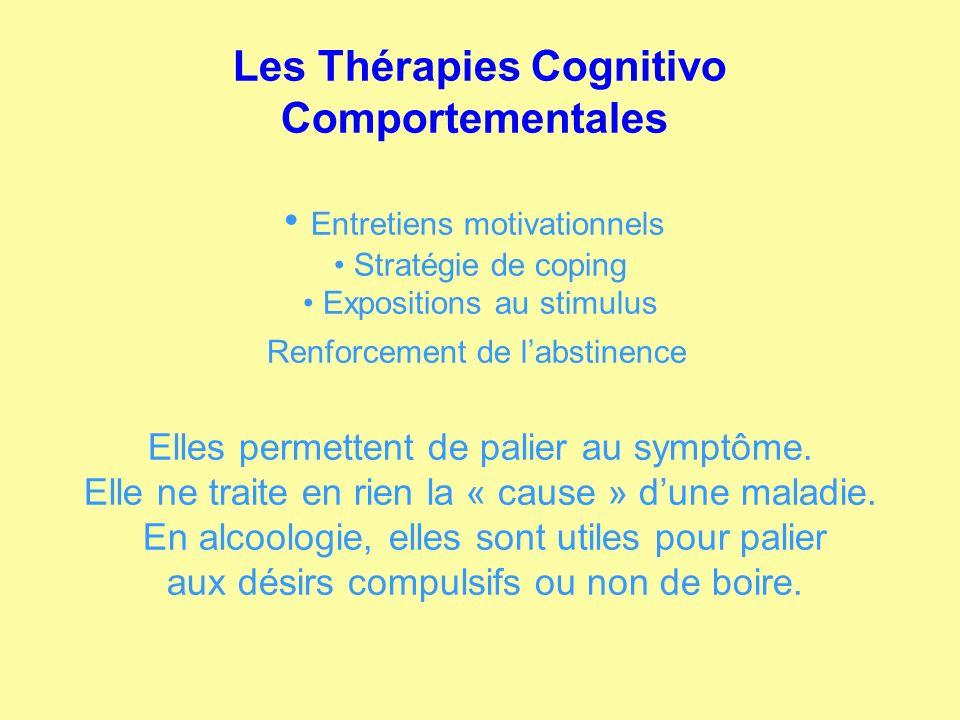 Les Thérapies Cognitivo Comportementales