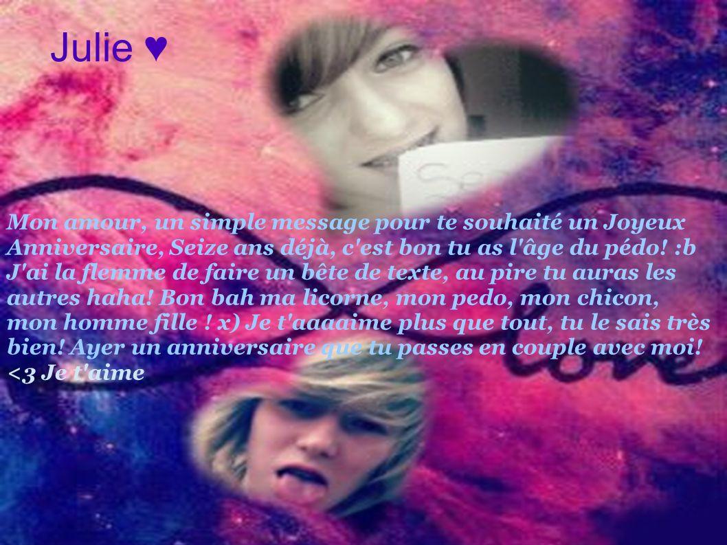 Julie ♥