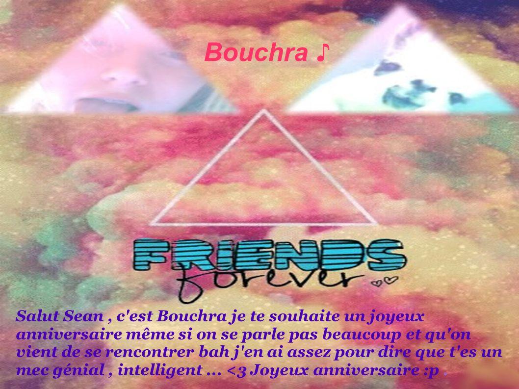 Bouchra ♪