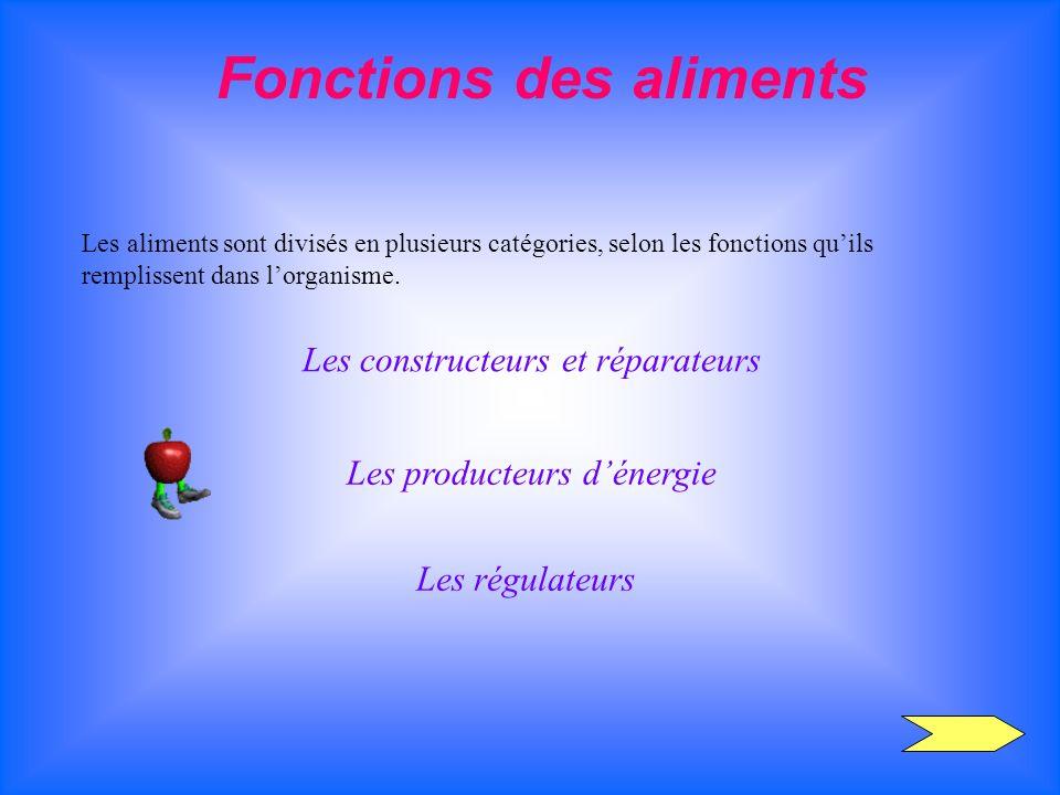 Fonctions des aliments