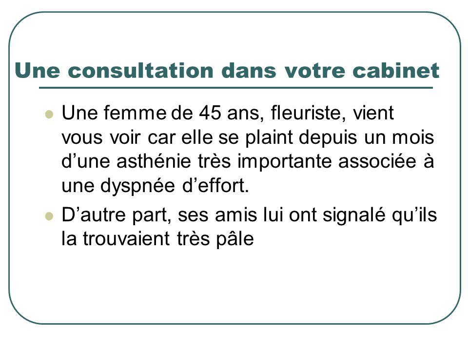 Une consultation dans votre cabinet