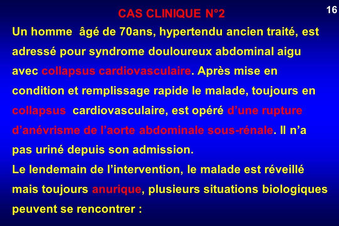 16CAS CLINIQUE N°2.