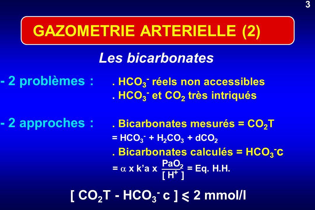 GAZOMETRIE ARTERIELLE (2)