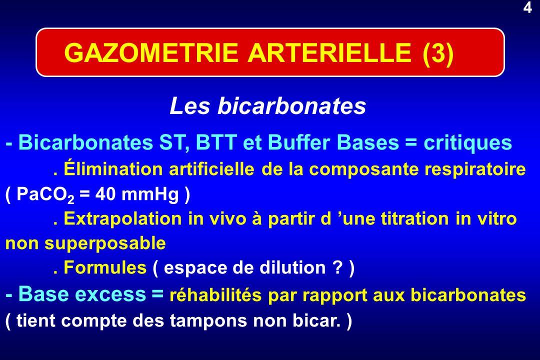 GAZOMETRIE ARTERIELLE (3)