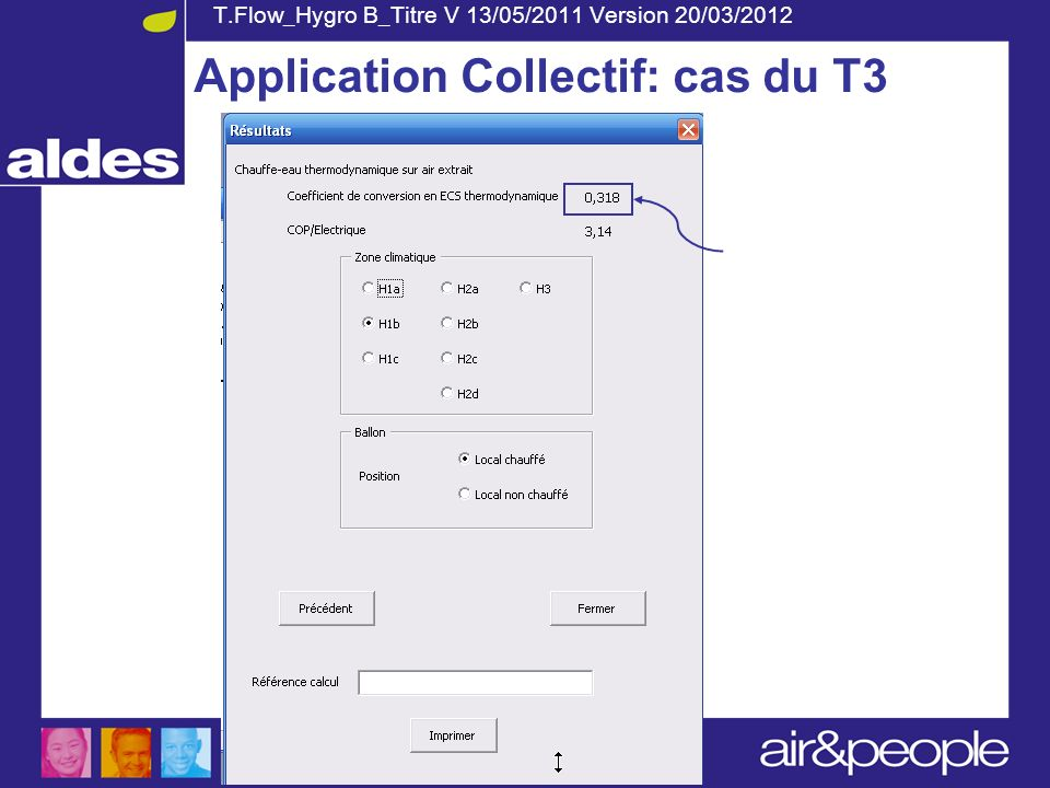 Application Collectif: cas du T3