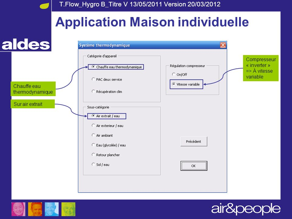 Application Maison individuelle