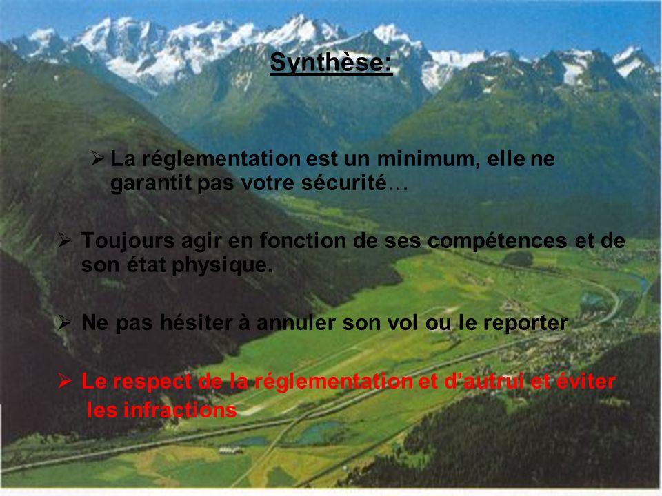 Synthèse: La réglementation est un minimum, elle ne garantit pas votre sécurité…