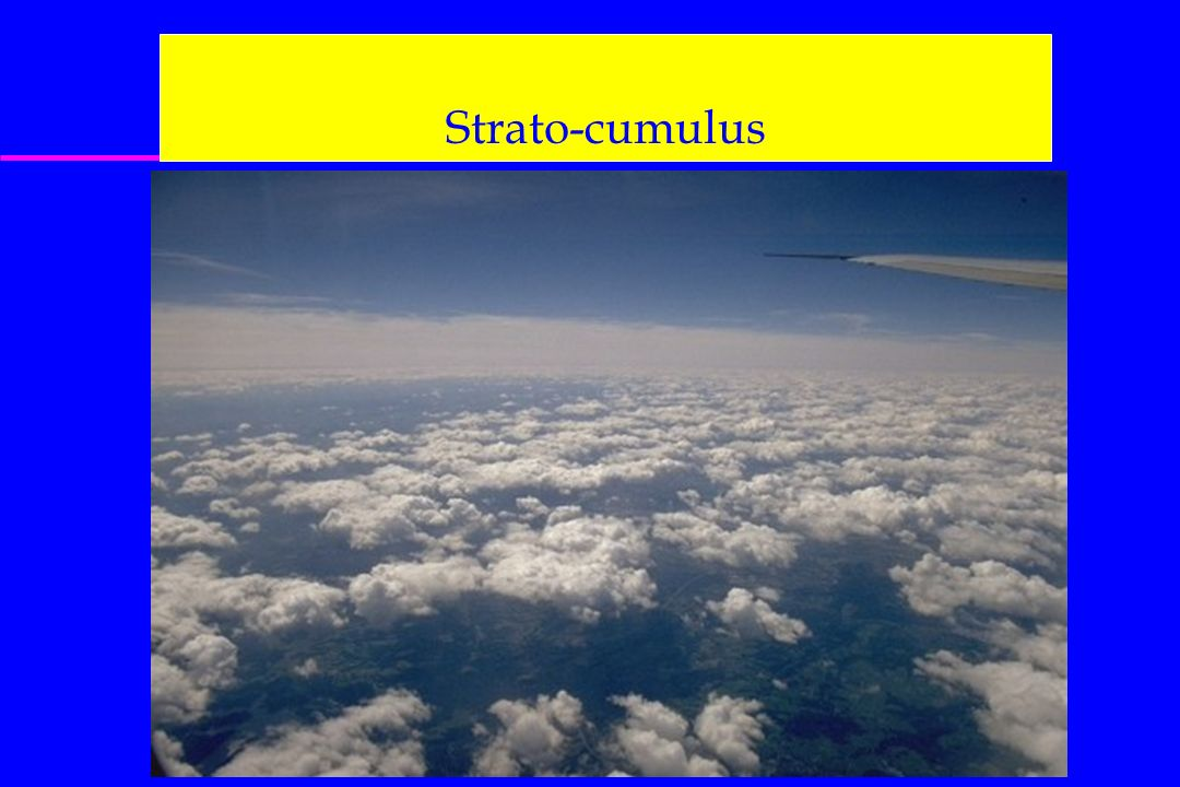 Strato-cumulus On aura aussi les cartes : 500 hPa, FL180