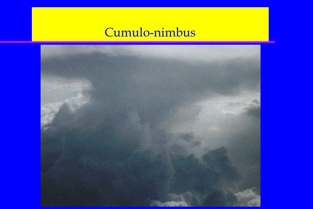 Cumulo-nimbus On aura aussi les cartes : 500 hPa, FL180 400 hPa, FL240