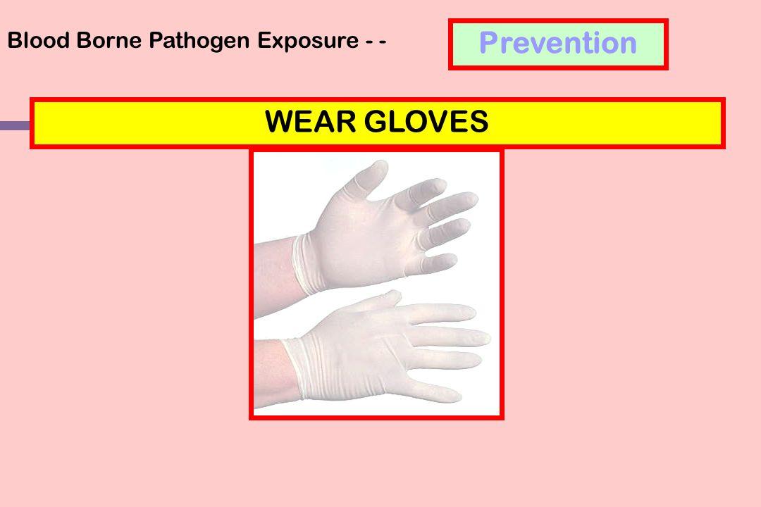 Blood Borne Pathogen Exposure - -