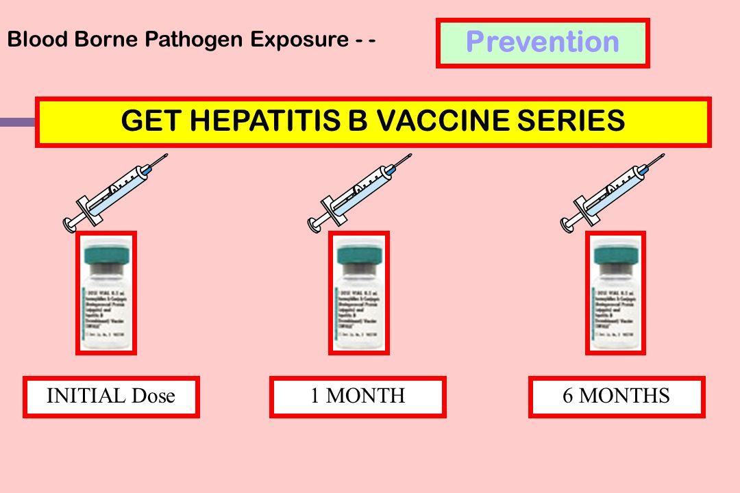 GET HEPATITIS B VACCINE SERIES