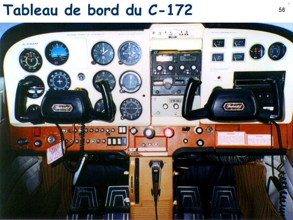 Tableau de bord du C-172