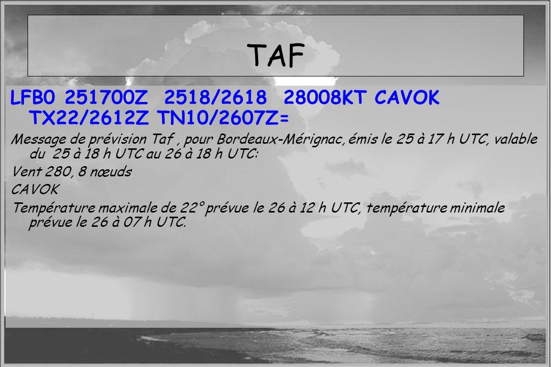 TAF LFB0 251700Z 2518/2618 28008KT CAVOK TX22/2612Z TN10/2607Z=