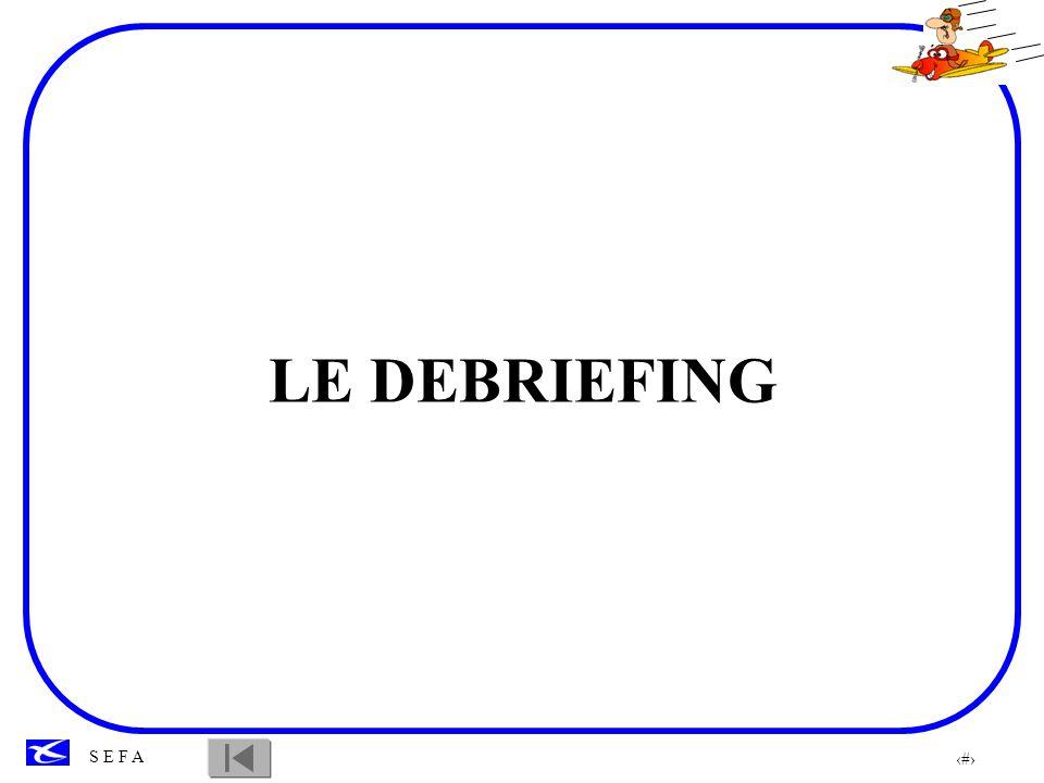 LE DEBRIEFING
