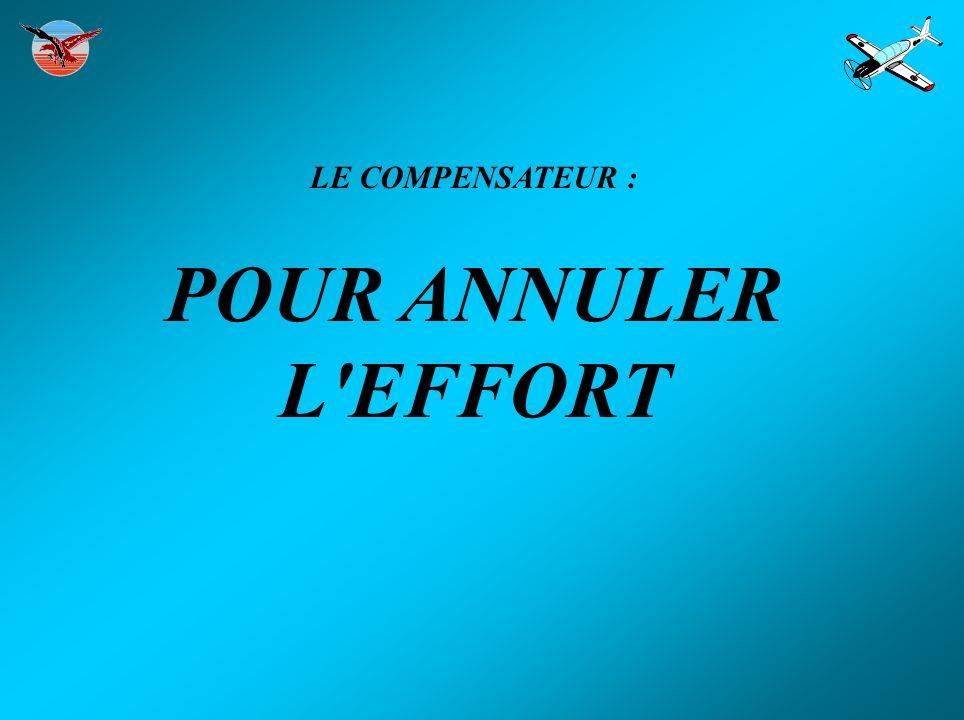 LE COMPENSATEUR : POUR ANNULER L EFFORT
