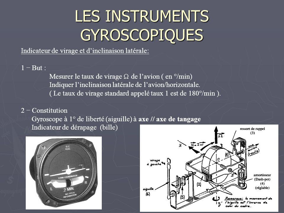 LES INSTRUMENTS GYROSCOPIQUES