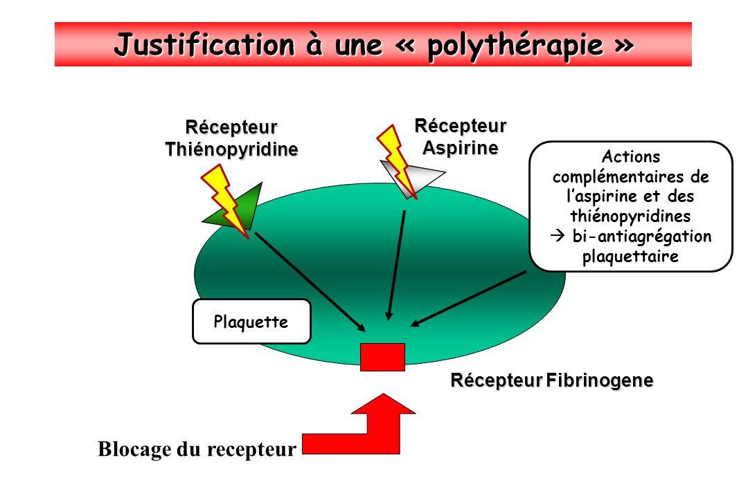 Justification à une « polythérapie »