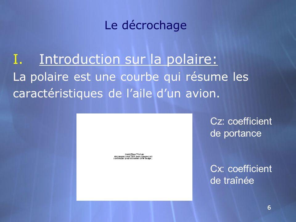 Introduction sur la polaire: