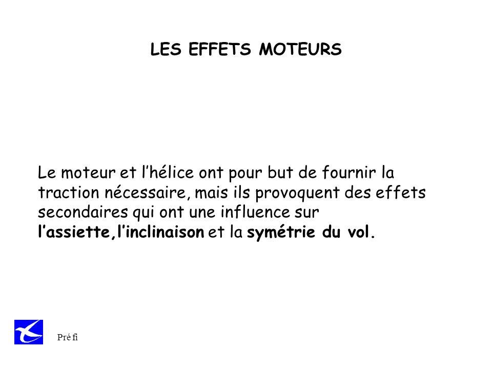LES EFFETS MOTEURS