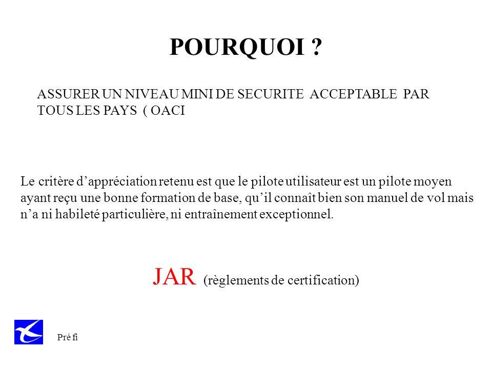 JAR (règlements de certification)