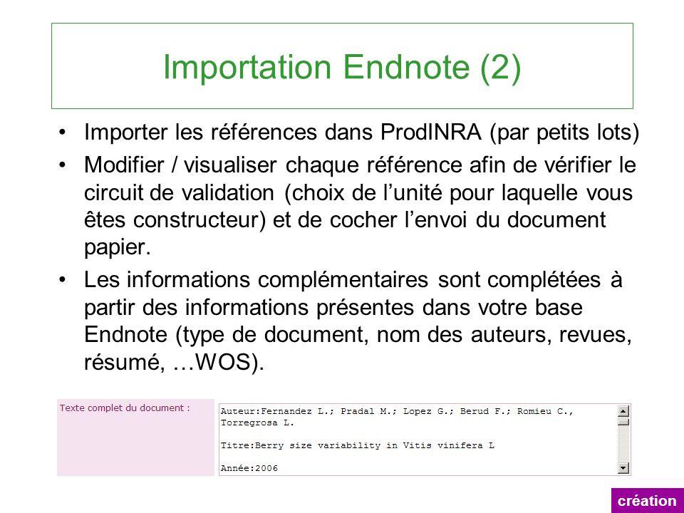 Importation Endnote (2)