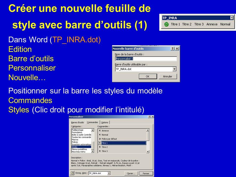 Créer une nouvelle feuille de style avec barre d'outils (1)
