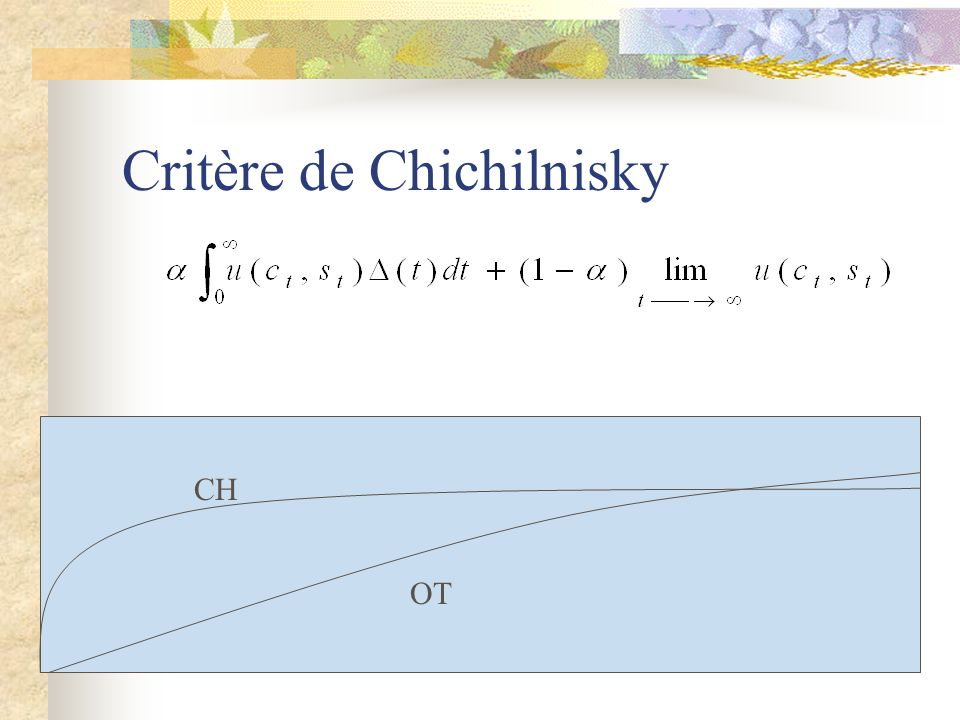 Critère de Chichilnisky