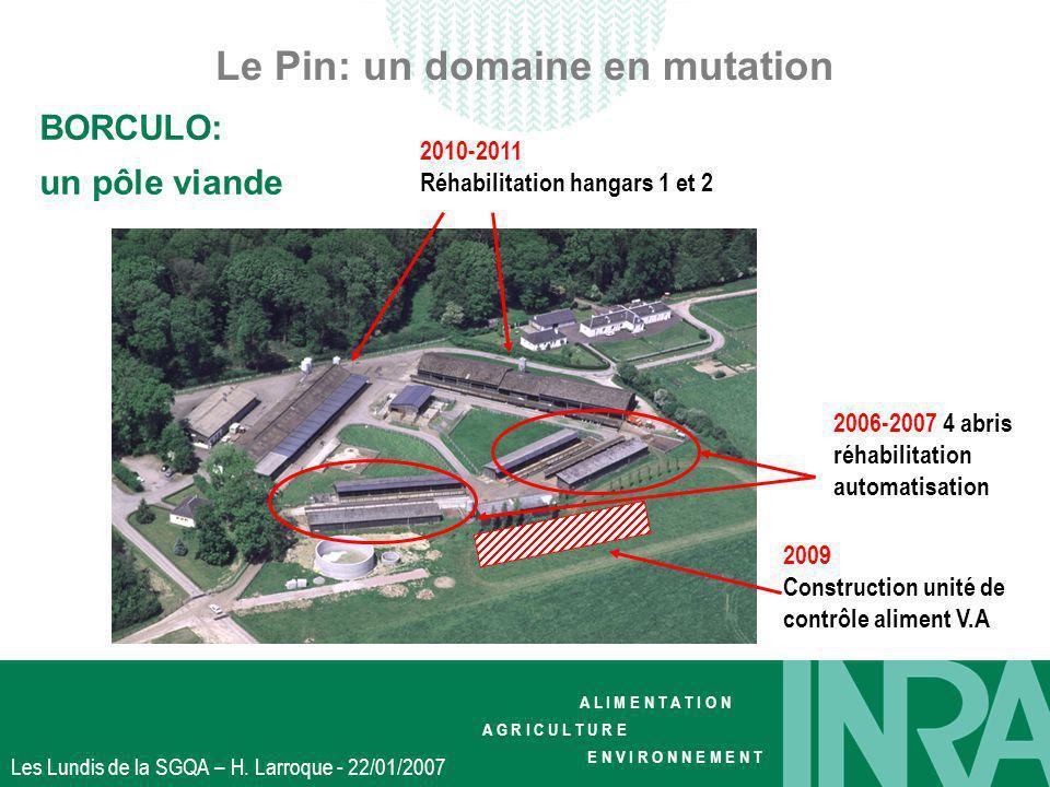 Le Pin: un domaine en mutation