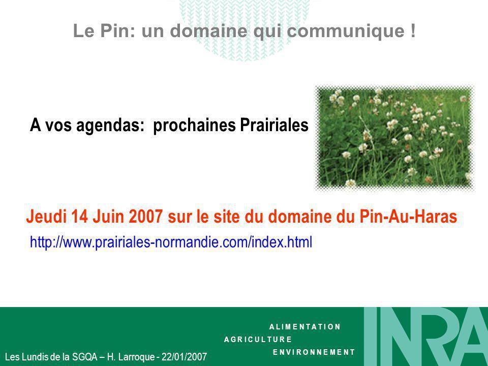Le Pin: un domaine qui communique !