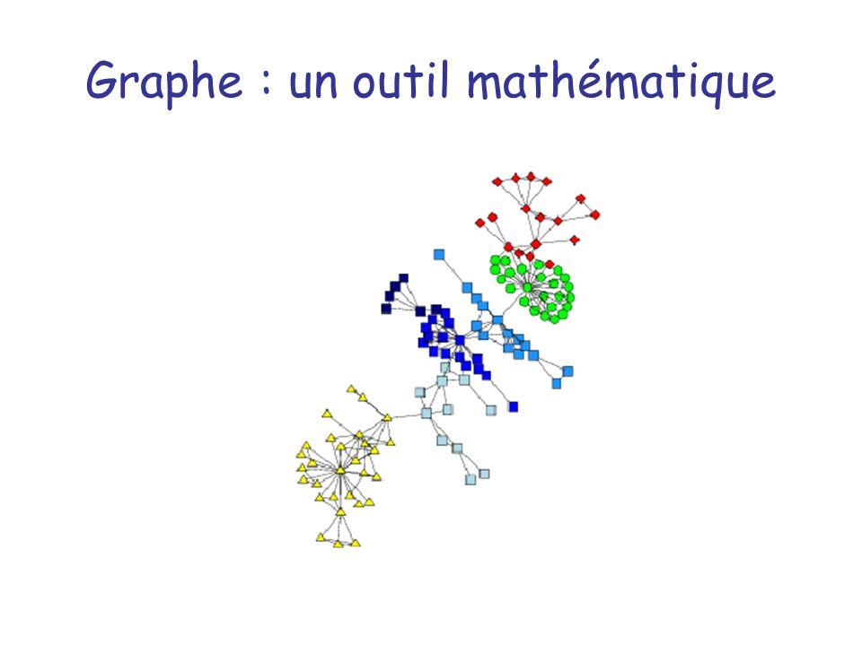 Graphe : un outil mathématique