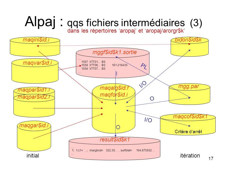 Alpaj : qqs fichiers intermédiaires (3)