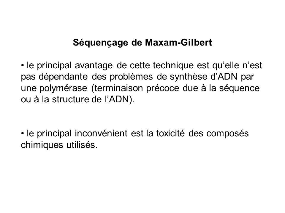 Séquençage de Maxam-Gilbert