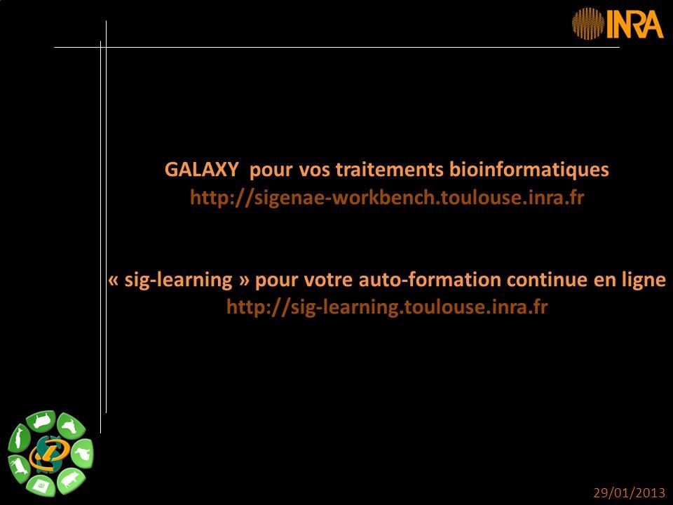 GALAXY pour vos traitements bioinformatiques