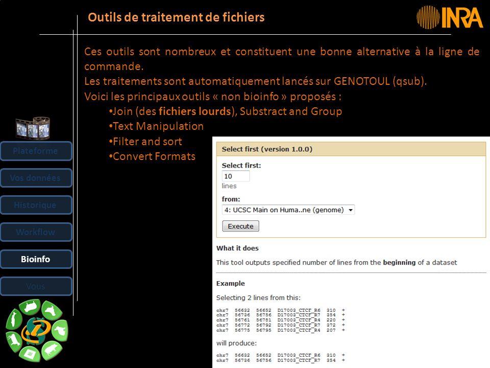 Outils de traitement de fichiers