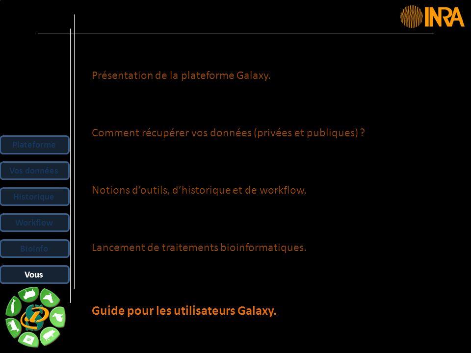 Guide pour les utilisateurs Galaxy.