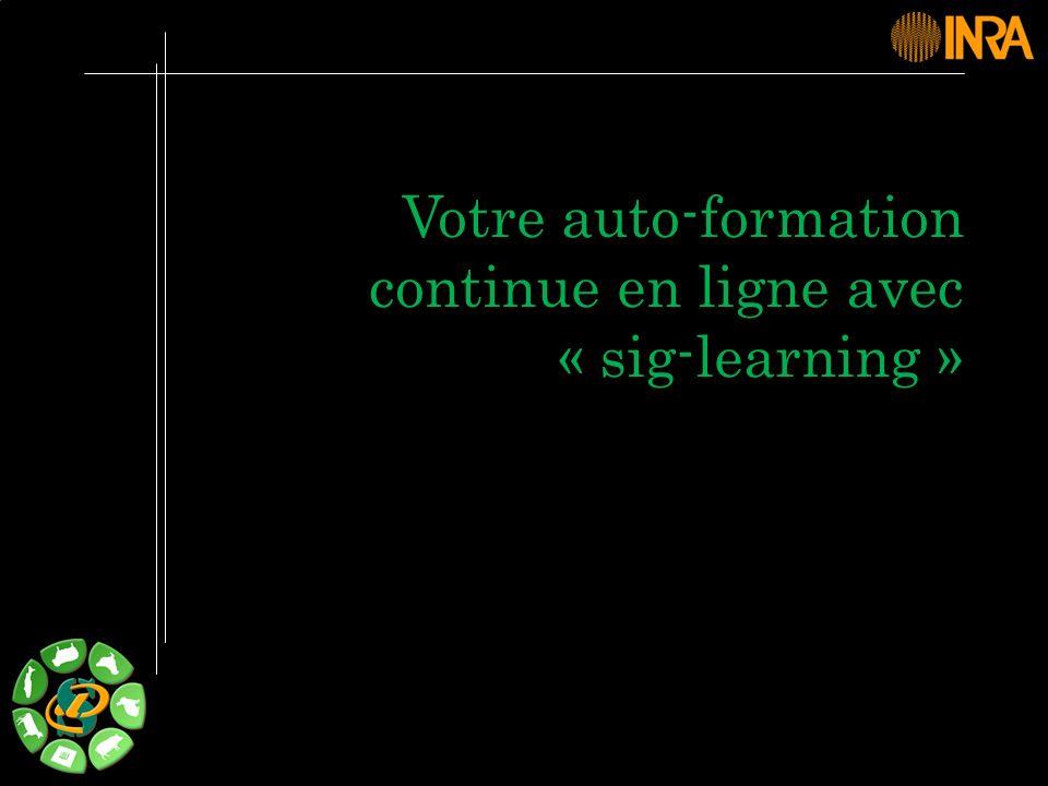 Votre auto-formation continue en ligne avec « sig-learning »
