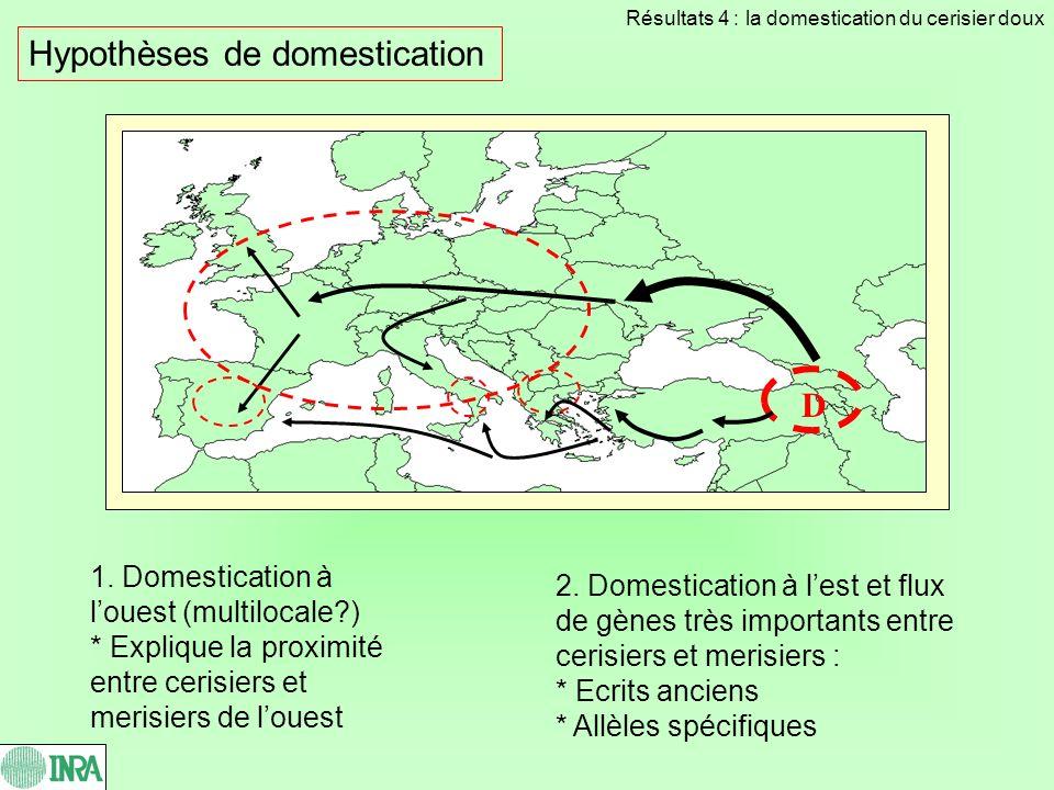 Hypothèses de domestication